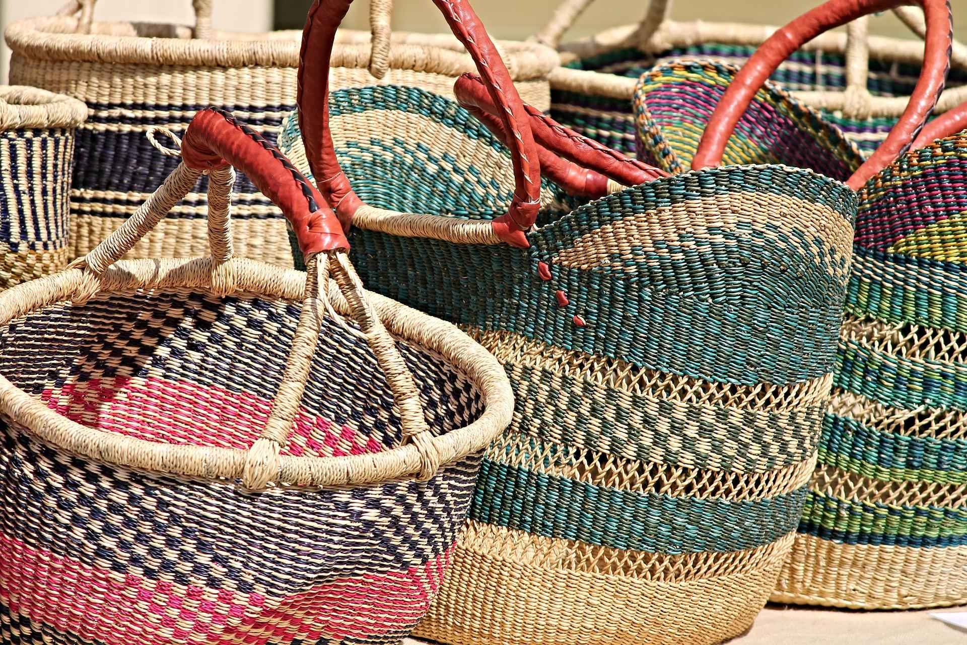 Wicker Weaving Wicker Baskets